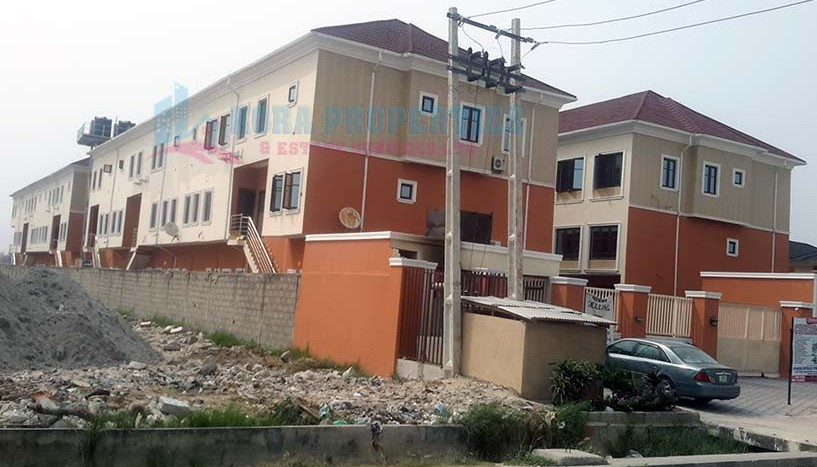 For Sale 20 units of 4 – Bedroom Terrace house on 3 floors